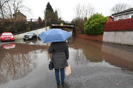 There are weather warnings for flooding across Scotland. Picture: John Devlin / JPI MEDIA