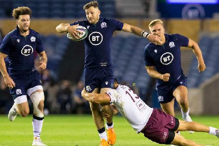 Tommy Seymour scored 20 tries in 55 caps for Scotland. Picture: SRU/SNS