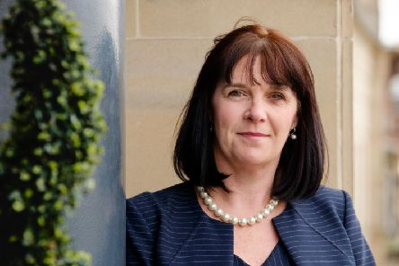 Catherine Burnet, KPMGs senior partner in Scotland, said the firm is 'driving change'. Picture: Mike Wilkinson