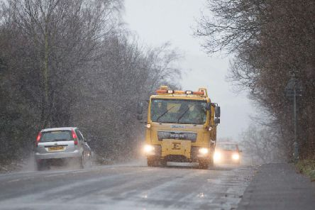 Met Office meteorologists cautioned the public againstinjuries from slipson frozen surfaces and urged drivers to take care of icy patches on untreated roads. Picture: JPIMedia