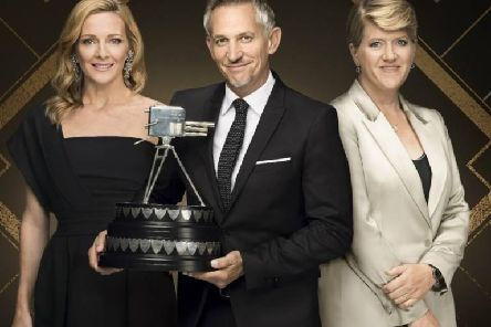 Gabby Logan, Gary Lineker and Clare Balding will present proceedings on Sunday night (BBC)