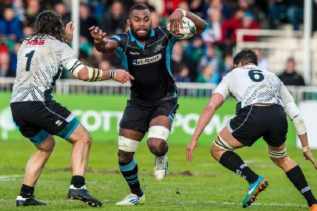 Leone Nakarawa was a hugely popular paper during his first spell with Glasgow Warriors. Picture: SNS