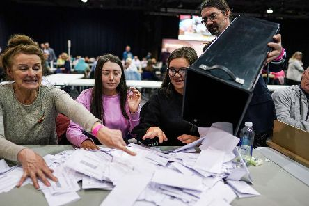 Turnout was up 1.6% in Scotland (Getty Images)