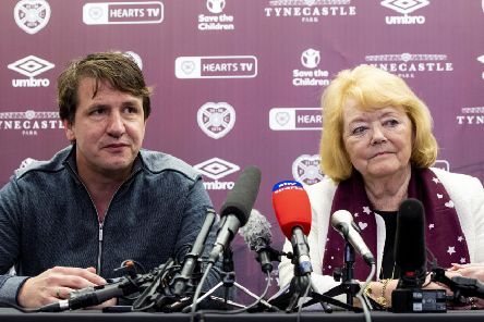 Hearts owner Ann Budge has put her faith in Daniel Stendel. Picture: Craig Williamson / SNS