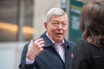 Former home secretary Alan Johnson led the offensive as he branded Momentum a 'cult'. Picture: John Devlin