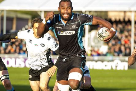 Leone Nakarawa is in talks about a return to Glasgow Warriors. Picture: SNS