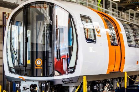 Passengers will be able to see out of each end of the new trains. Picture: SPT