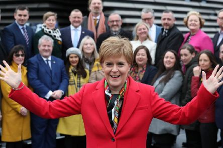"The Scottish First Minister argued that it would be a ""perversion and subversion of democracy"" for her to be denied the right to hold such a ballot after her party's election success."
