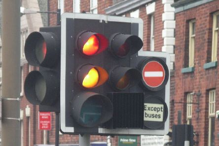 Glagsow officials are known for fining those who go through red lights