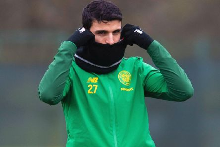 Mohamed Elyounoussi has impressed while on loan at Celtic. Picture: SNS