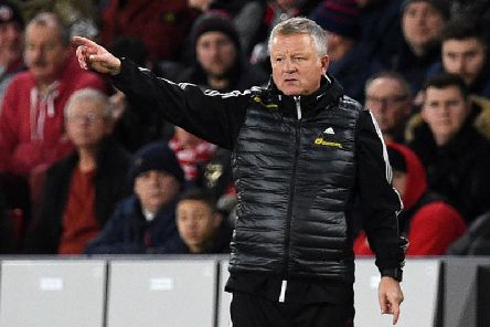 Chris Wilder refused to be drawn on transfer speculation