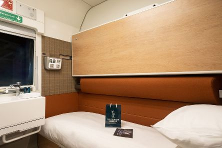 The interior of the Caledonian Sleeper, which has been beset by problems since its relaunch