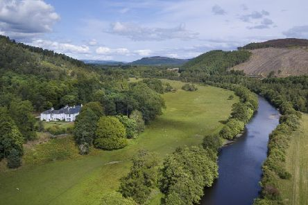 The Spey valley is an idyll place for a holiday (Picture: Savills/SWNS)