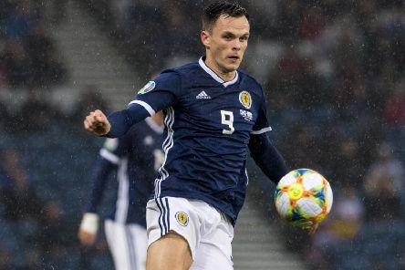 Lawrence Shankland scored his first Scotland goal against San Marino in October. Picture: Alan Harvey / SNS