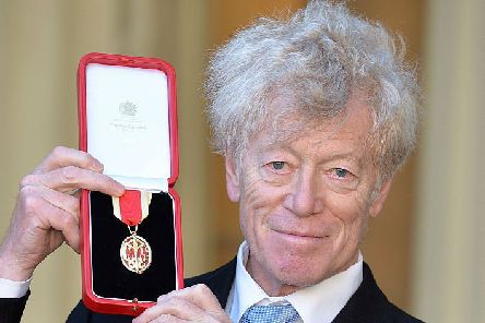 Sir Roger Scruton after he was knighted at Buckingham Palace in, 2016 (Picture: John Stillwell - WPA Pool/Getty Images)
