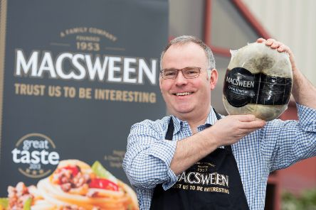 James MacSween has rebranded their veggie haggis as 'veggie crumble' for export to the US. Picture: Ian Georgeson