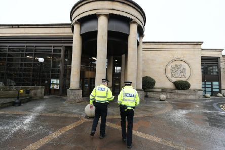 The man pleaded guilty to assault and robbery at the High Court in Glasgow.