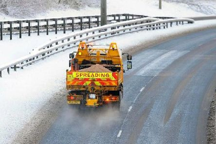 Road users warned of icy conditions set to sweep across Scotland   picture: JPI Media