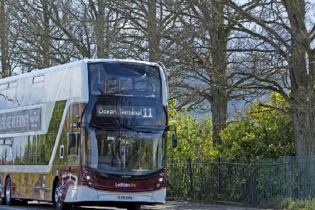 Buses could avoid Edinburgh city centre in the future following a successful trial on Hogmanay. PIC: Neil Hanna/TSPL.