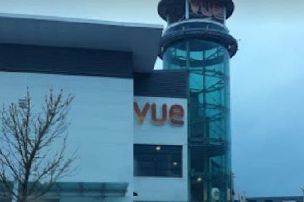 Craig Walker, 30, was furious after Ashley Wilson let go of a door he had been holding at the Vue Cinema complex in Hamilton, Lanarkshire, as he made his way out.