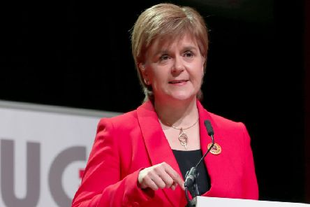 Nicola Sturgeon has unveiled plan to boost Scots exports
