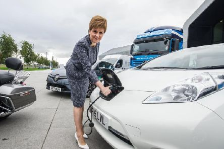 The Scottish Government has already set the ambition of reaching net-zero emissions by 2045. Picture: John Devlin/TSPL