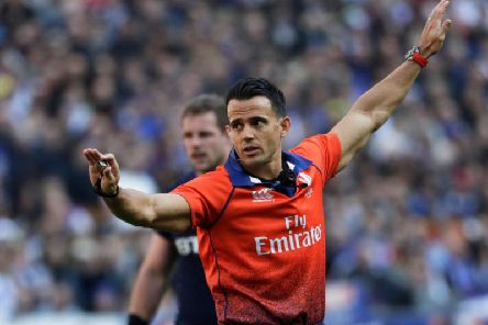 Referee Nic Berry will serve as an assistant for Scotland's fifth and final fixture against Wales (Getty Images)