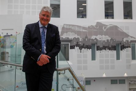 Tim Davison at the media preview to the new Sick Kids Hospital, before Health Secretary Jeane Freeman ordered the delay after last-minute checks revealed the ventilation in critical care areas did not meet the required standard. Pic: Scott Louden.