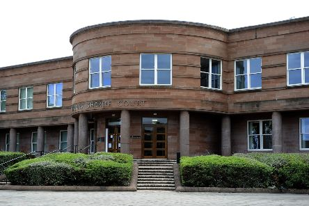 Andrew Marshall appeared at Falkirk Sheriff Court last week