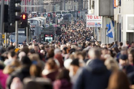 According to research published in 2016, there were 181,000 EU nationals living in Scotland making up 3.4 per cent of the population. Picture: Alistair Linford