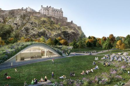"Critis say the Quaich Project to redevelop the Ross Bandstand would amount to ""overdevelopment"" of the Gardens"