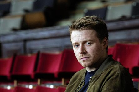 Bafta Rising Star nominee Jack Lowden. 'Location: With Thanks to Leith Theatre Trust 28-30 Ferry Road, Leith, EH6 4AE. www.leiththeatretrust.org