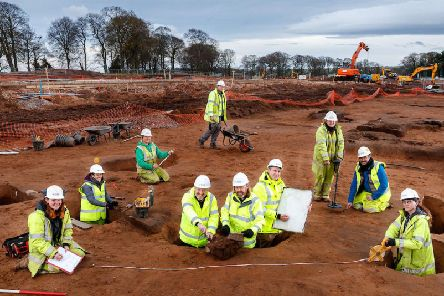 Guard Archaeology was responsible for locating the real battlefield of Bannockburn and finding a previously unknown Roman army camp in Ayr. Picture: Scottish Enterprise