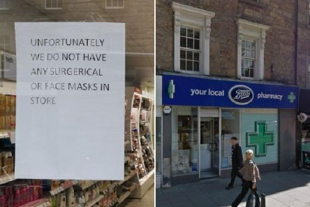 Boots stores across Edinburgh have run out of protective face masks after patients in hospital were tested for the suspected coronavirus     picture: Google