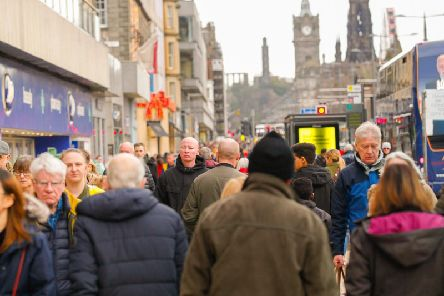 Edinburgh's retail figures outstripped wider Scottish and UK averages. Picture: Scott Louden