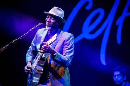Keb' Mo'  was in exuberant form for this rare Scottish visit