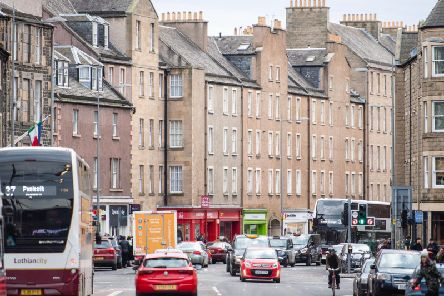Edinburgh has the highest proportion of deaths attributable to pollution in the country, ahead of Glasgow, Dundee and Aberdeen. Picture: JPIMEDIA