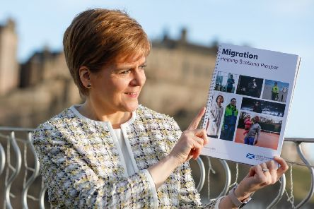 Nicola Sturgeon 'launches new proposals for immigration to Scotland