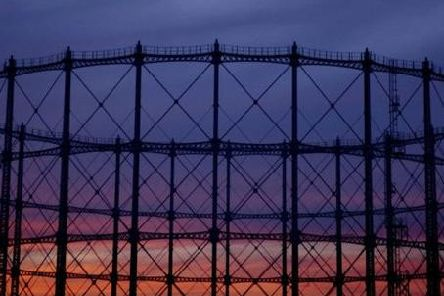 The Granton Gasholder on Edinburgh's waterfront has been out of use for nearly 20 years.