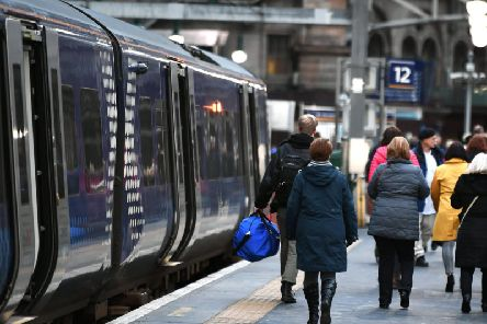 The rating is one point below ScotRail's previous 90 per cent record. Picture: John Devlin