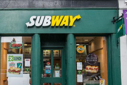 The Scot accused the sandwich shop of 'racism'.