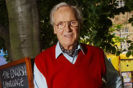 Nicholas Parsons, a regular at Edinburgh Festival Fringe,'in The Pleasance Courtyard' (Picture: Neil Hanna)