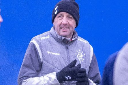 Rangers assistant manager Gary McAllister at training. Picture: Bill Murray/SNS