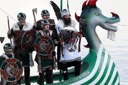 Pressure is growing on the organisers of Up Helly Aa to admit women into the main procession   picture: PA