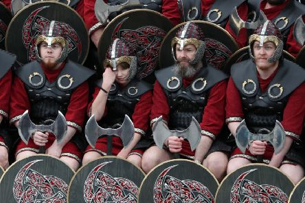 The Vikings included women among their warriors, according to accounts dating back to the early Middle Ages that have recently been supported by scientific evidence (Picture: Andrew Milligan/PA Wire)