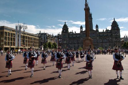 The proposals could cost the city up to ten million pounds and see the east and west sides of the square extended, subsuming the roads. Picture: TSPL