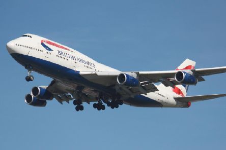 All British Airways flights to mainland China have been suspended. Picture: TSPL