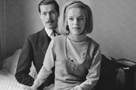 Lord Lucan with his future wife Veronica Duncan in 1963. Picture: Getty Images