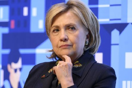 Even former US Secretary of State Hillary Clinton has publicly admitted feeling unworthy (Picture: Matthew Horwood/Swansea University/PA Wire')