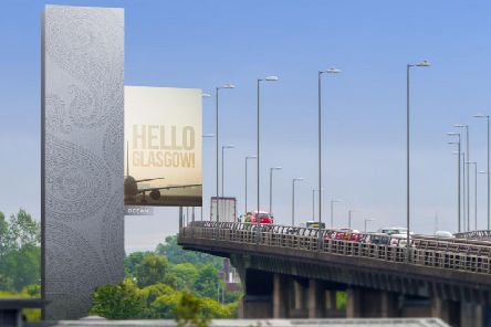 An artist's impression of the M8 Tower near Glasgow Airport. Picture: Contributed